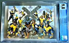 HOUSE OF X #4 CGC 9.8  COVER BY MOLINA VARIANT 2ND PRINT, 2019
