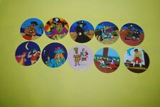 058 pogs pog caps milkcaps flippo : lot de 10 skippies