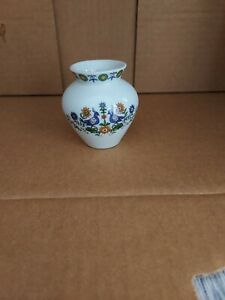 Small White Porcelana Vase - Schmidt, Brasil