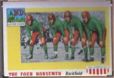 1955 Topps All American Football Card #68 Four Horsemen-Notre Dame