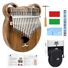 Kalimba 17 Key Thumb Piano Solid Kasra Kit Tuner Hammer Gig Bag Booklet Aklot