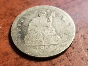 1856 Seated Liberty Silver Quarter       INV10     QL1003