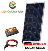 100 Watt Solar Panel Kit RV Kit With Wires, 100W for RV SHED 12V Battery Charger