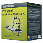 Menabo Stand Up 3 portabici per Opel Mokka / Mokka X Tipo J13 per 3 bici