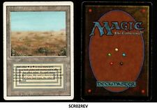MRM ENGLISH Scrubland - Brousse GOOD / Played MTG magic REVISED ( SCR02REV)