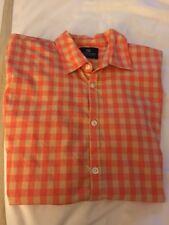 SCOTCH & SODA Size S Men's 20059 Garment Dye Gingham  Collar Shirt