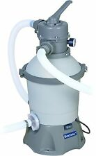 530 GPH Bestway Flowclear Sand Filter Pump 58397 for Above Ground Swimming Pools