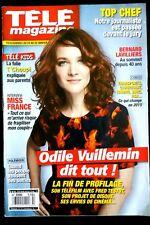 Télé Magazine 24/01/2015; Odile Vuillemin/ Bernard Lavilliers/ Miss France