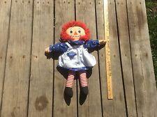 Raggedy Anne Stuffed Doll , Vintage Toy