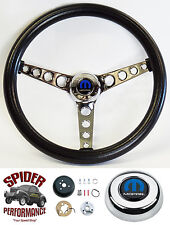 """1970-1974 Charger steering wheel CHROME 14 1/2"""""""