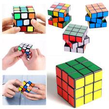 3D Rubik's Cube Rubix Cubic Magic Square Puzzle Mind Game Kids Toys Classic Gift