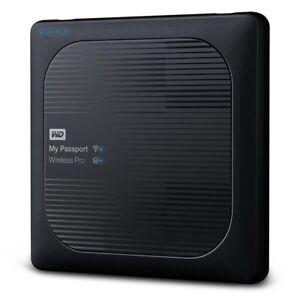 WD 2TB My Passport Wireless Pro WLU3 Externe Festplatte Datensicherung Daten