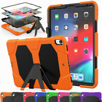 For iPad Pro 12.9 11 1st/2nd Gen Pro 10.5 AIR 3 9.7 Impact Stand Case Hard Cover