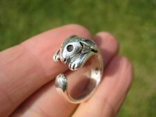 925 Silver Rabbit ring Jewelry Art  Taxco Mexico