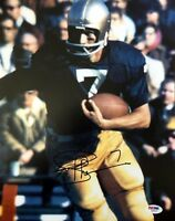 JOE THEISMANN SIGNED AUTOGRAPHED 11x14 PHOTO NOTRE DAME FIGHTING IRISH PSA/DNA