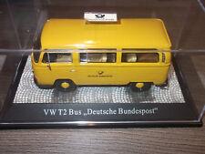 "Premium ClassiXXs  VW T2  Bus  "" Deutsche Bundespost ""  1:43  in Vitrine"