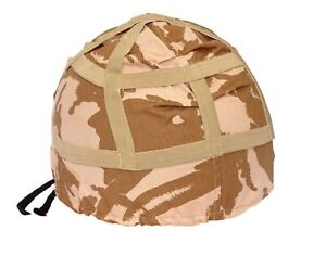 NEW Genuine British Army Mk6 Helmet Cover Desert Camo DMP small medium large