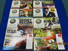 Official XBox Magazine ~ January - June 2006 ~ Issues 53 - 58 (Lot of 6 Mags)