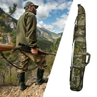 Airsoft Outdoor Rifle Bag Case 135cm Camouflage Gun Padded Storage Long Pack