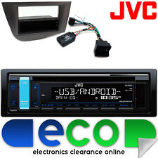 SEAT LEON 05-15 JVC CD MP3 USB AUX IPOD CAR radio stereo STERZO interfaccia KIT2