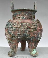 datant des brûleurs d'encens chinois bronze