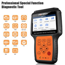 Foxwell NT650 Elite OBD2 Auto Diagnostic Tool ABS SRS Airbag 13 Reset function