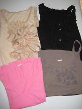 Lot Of  4 J Crew  Cotton Knit Tops Shirts Size XS X-Small JCrew