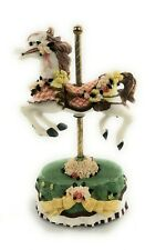 Heritage House Melodies County Fair Collection Carousel Horse As Time Goes By