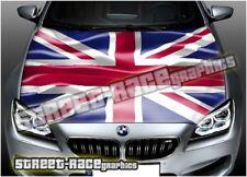 706 voiture Bonnet Hood Wrap Imprimé Graphique Air Release Vinyl Union Jack Drapeau UK