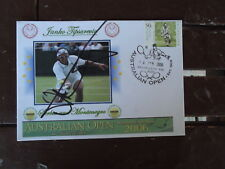TENNIS 2006 AUS OPEN COVER SIGNED BY JANKO TIPSAREVIC
