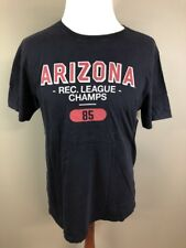NWT Arizona Rec League Champs Short Sleeve Athletic Graphic T Shirt Large L