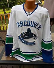 Vintage NHL Reebok On Ice JASON GARRISON Authentic VANCOUVER CANUCKS Jersey XL