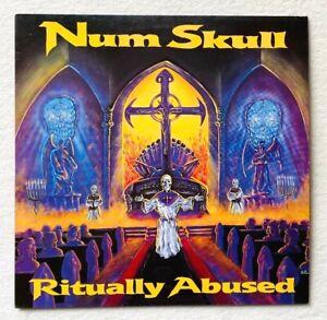 NUM SKULL . ritually abused LP 1.Press 1988 Metallica Slayer Death Sodom Anthrax