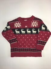 Red Reindeer Christmas Sweater 24 Months