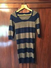 Topshop 3/4 Sleeve Striped Mini Dresses for Women