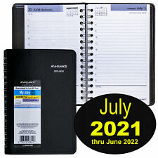 At A Glance Dayminder Ay44 July 2021 Thru June 2022 Daily Appointment Book