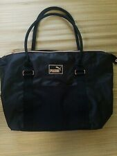 PUMA BLACK FITNESS DUFFLE BAG W/GOLD TRIM ☆ NEW WITHOUT TAGS☆
