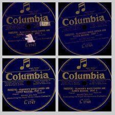 "BRUNO WALTER & ROYAL PHILHARM. ORCH. ""Parsifal"" Klingsors Zaubergarten; 2x GS407"