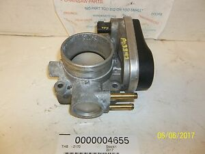 06 07 08 09 FORD FUSION MERCURY MILAN 3.0L THROTTLE BODY VALVE OEM TESTED