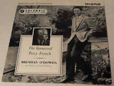 "Brendan O'Dowda The Immortal Percy French 1958 Columbia SEG 8042 7"" Vinyl EP"