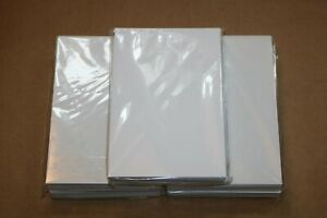 Lot of 250 Sheets of 4x6 Photo Paper - Glossy Finish, 5 New Packages