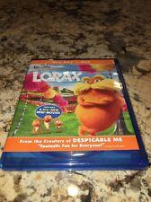 Dr. Seuss' The Lorax - Blu-ray + DVD - 2-Disc Set - Very Good **