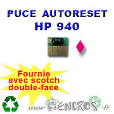 RECHARGEABLE Puce Auto-Reset Magenta HP 940