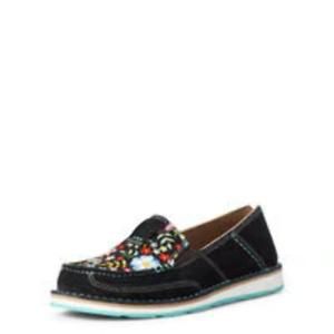 ARIAT CRUISER BLACK SUEDE POP FLORAL - FOOTWEAR LADIES - 10035828