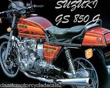 SUZUKI GS850 GS850G DECAL SET 5