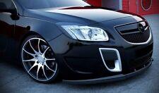 schwarze CUP Spoilerlippe Frontspoiler Spoiler Diffusor Ansatz Opel Insignia OPC