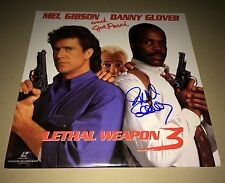 Richard Donner Lethal Weapon 3 - Signed Laserdisc Authentic IN PERSON