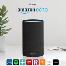 Tutti i nuovi Amazon Echo (2nd generazione) Wireless Altoparlante Alexa-Antracite Tessuto
