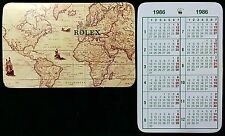 CALENDARIO Rolex Vintage 1986 16660 16550 16520 6263 16610 1665 1655 16750 16800