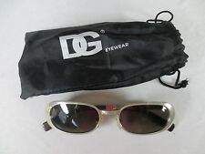 857bbdbf6ab D g Dolce   Gabbana Metal Sunglasses with Fabric Case Mint Condition Ac8